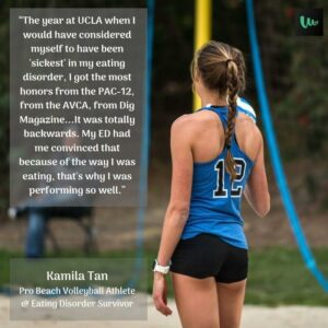 Kamila Tan - Beach Volleyball - WellU Mental Training Podcast