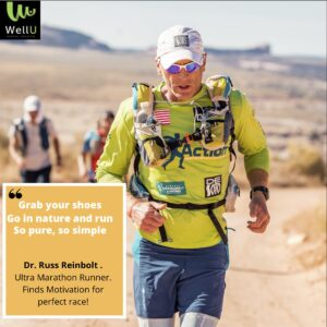 Dr. Russ Reinbolt - Ultra Marathon Runner - Motivated on a Mission